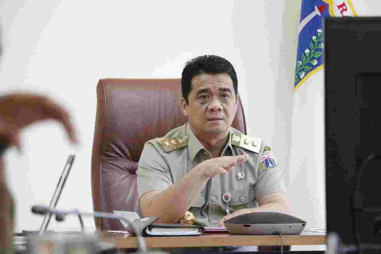 Wagub Ariza Apresiasi Keterlibatan Polri Dalam Penegakan Disiplin Selama PSBB di Jakarta