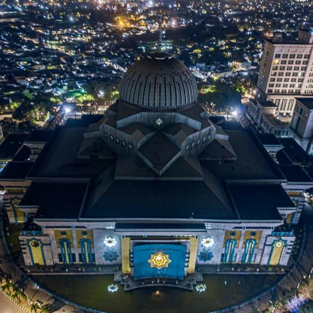 Pasca Ditetapkan PSBB Masjid Raya JIC Ditutup Kembali