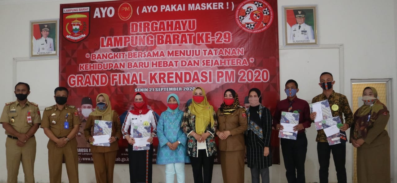 Grand Final Lomba Pakai Masker dan Lomba Pakai Dasi kreasi Celugam (Krendasi PM) 2020