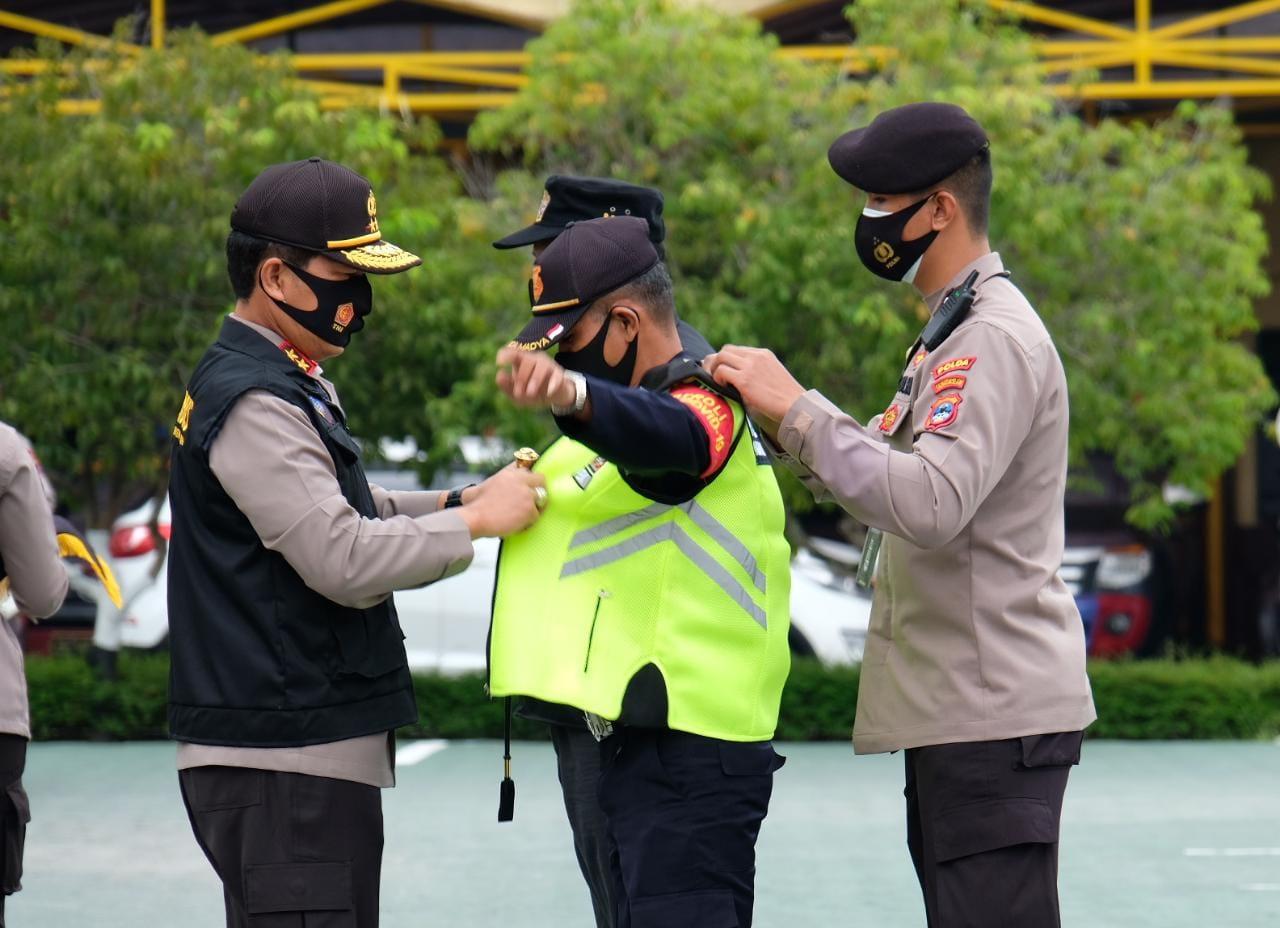 Kapolda Kalsel Lantik dan Kukuhkan Pengurus Pokdarkamtibmas Bhayangkara Kalsel 2020