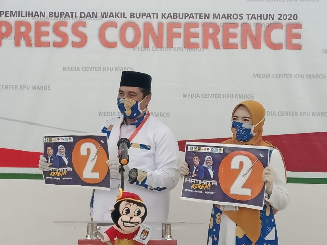 Chaidir Syam Mangaku Senang Mandapatkan Nomor Urut 2