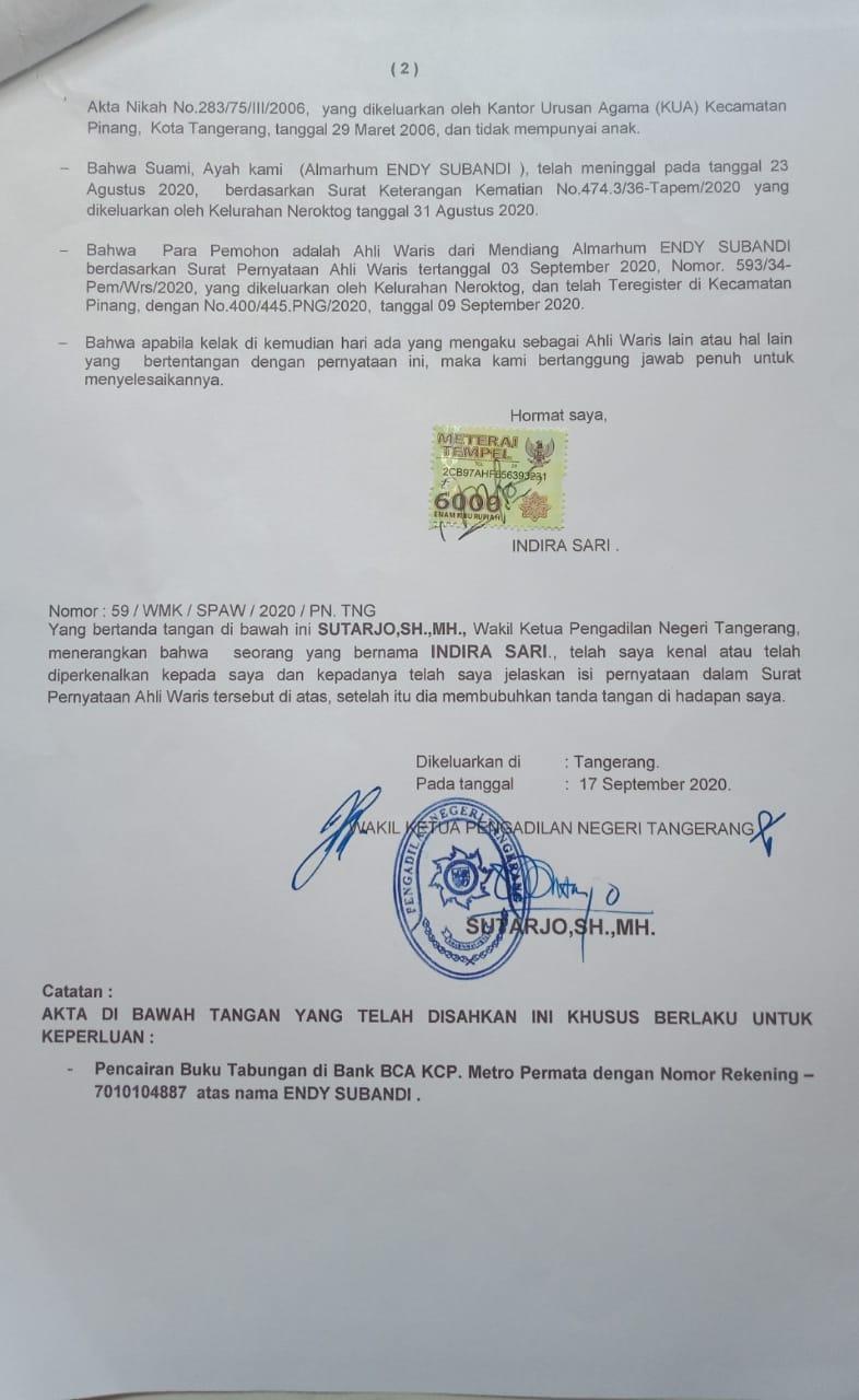 "Pelayanan BCA Cabang Metro Permata Tangerang ""Ribet"", Nasabah Dipersulit"