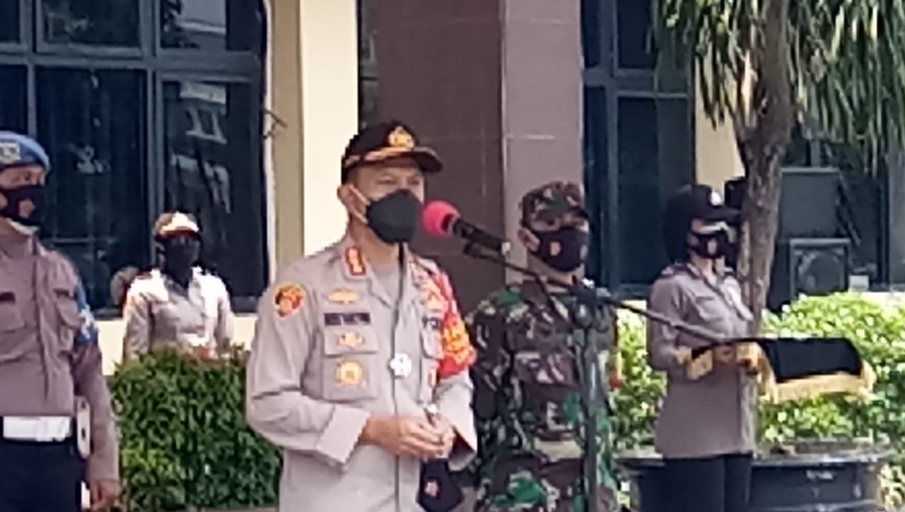 Polres Metro Jakarta Selatan Lounching Timsus Penindakan Prokes Covid-19