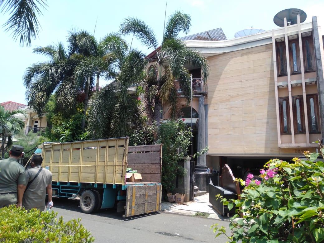 Amankan Eksekusi Lahan dan Bangunan di Komplek Permata Medialand, Diturunkan 157 Personil Gabungan