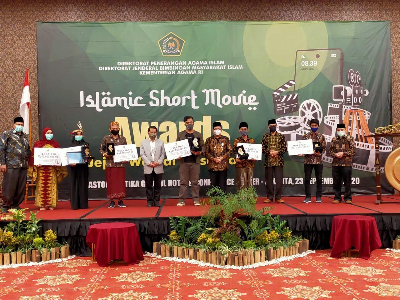 Para Pemenang Kompetisi Film Pendek Jejak Wali Nusantara, Diselenggarakan Kemenag