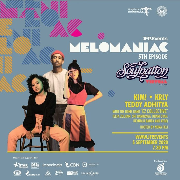 "JFP Production Gelar Melomaniac 5th ""Soulnation Virtual Edition"""