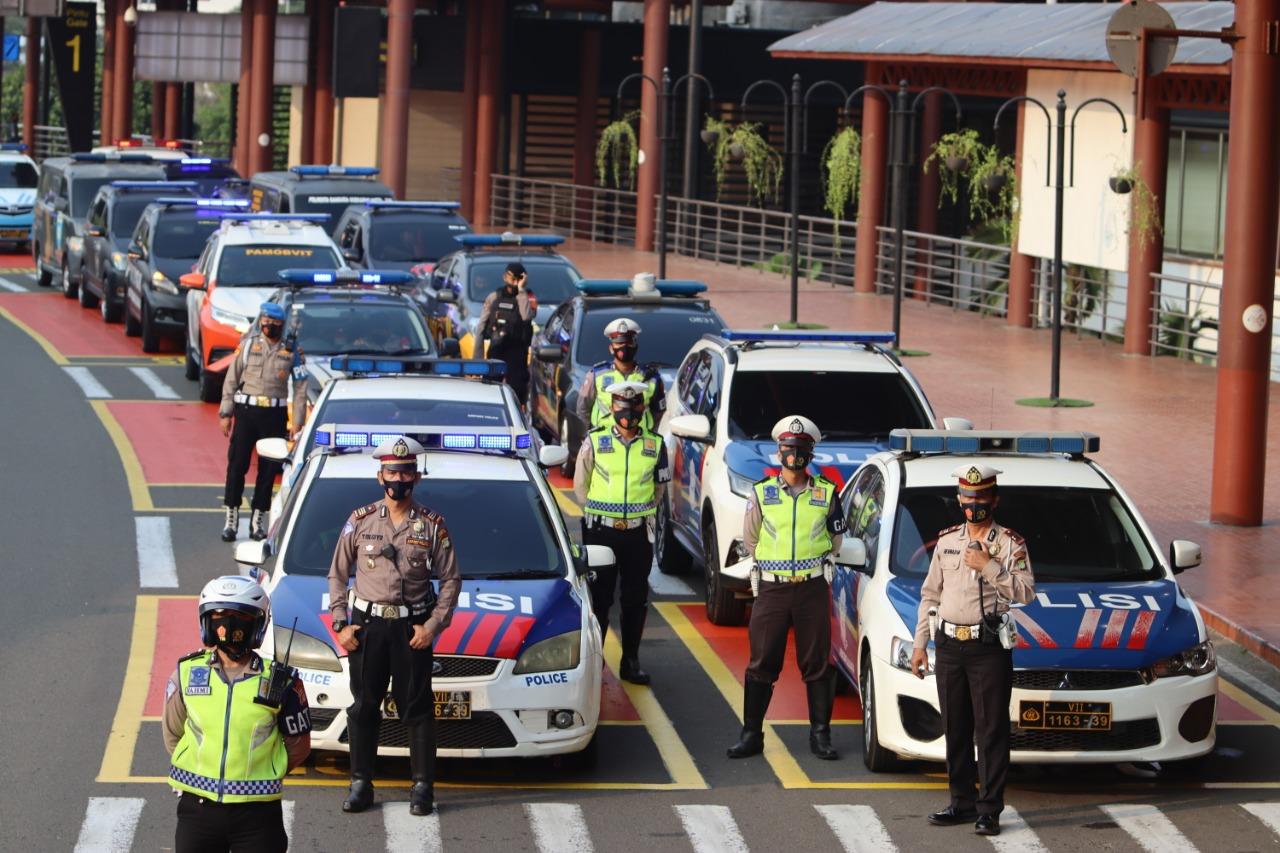 """Corona Mobile Patrol"" Polresta Bandara Soeakarno-Hatta"