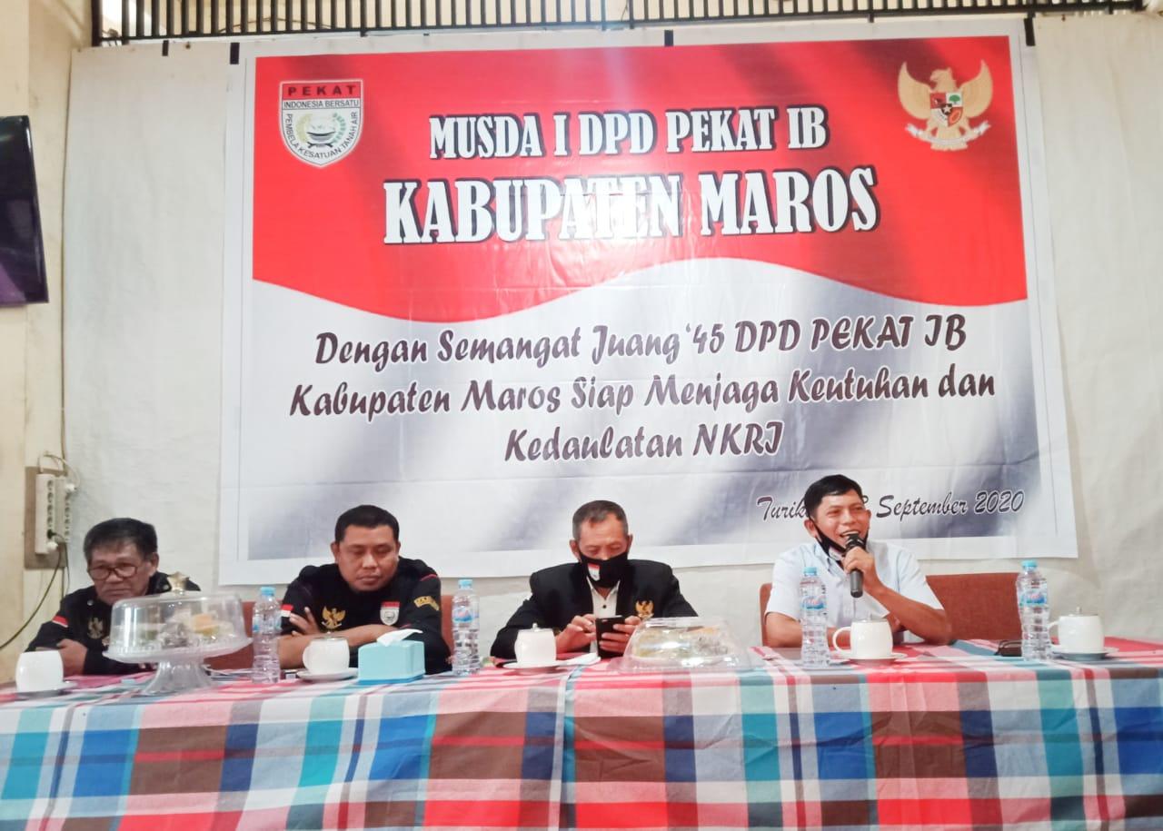 DPD Pekat Indonesia Bersatu Maros Laksanakan Musda l