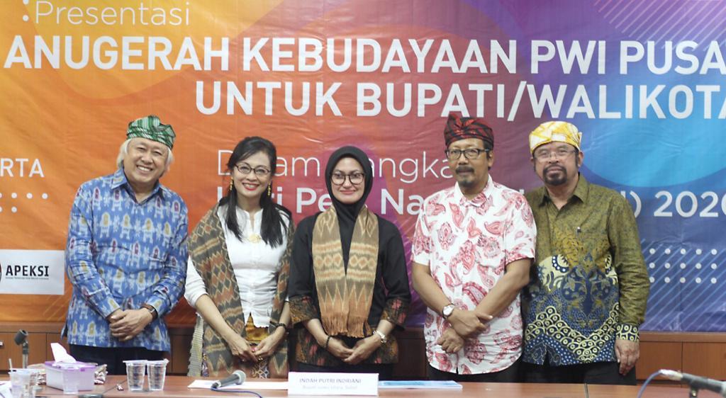 HPN, PWI Pusat Undang Bupati/Walikota se-Indonesia Yang Komit Kebudayaan