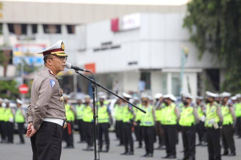 Antisipasi Aksi Demo Susulan Tolak RUU Ciptaker Arus Lalu Sekitar Istana Negara Dialihkan