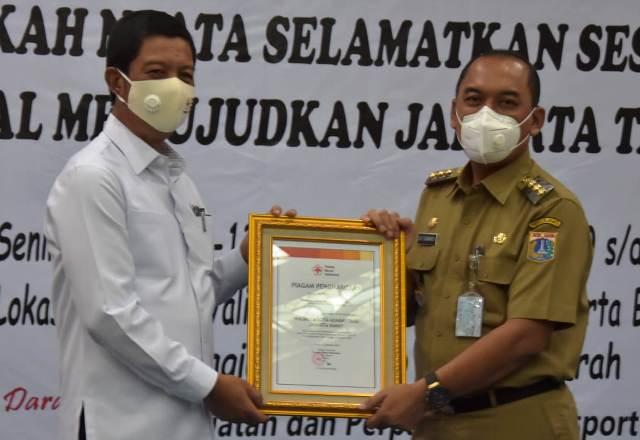 Walikota Jakarta Barat, Uus Kuswanto Minta Camat Aktif Dukung Kegiatan Donor Darah