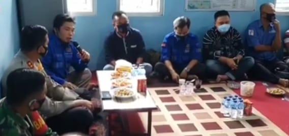 Jalin Silaturahmi, Kapolres Sambangi Kantor PWI Kabupaten Majalengka