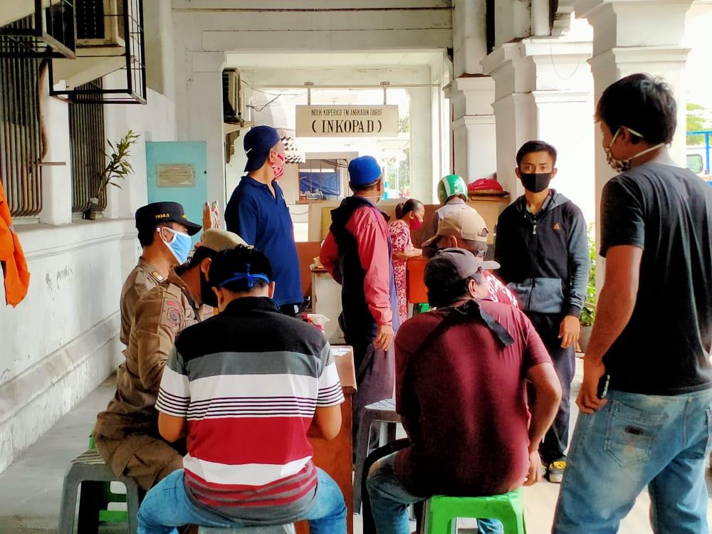 Polsek Tambora Terus Gencar Operasi Prokes Penggunaan Masker, Kali Ini Jaring 28 Pelanggar