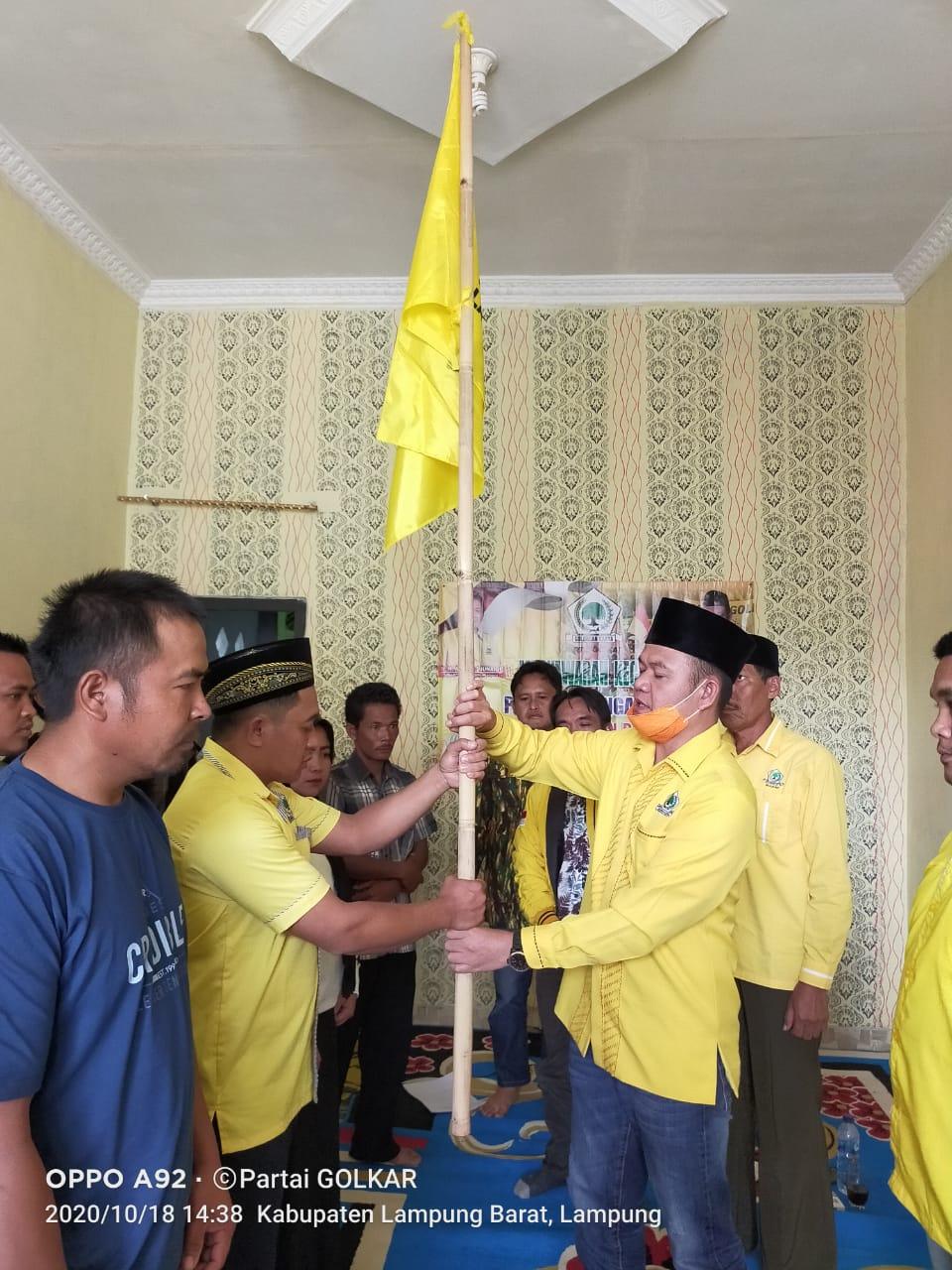 DPD II Partai Golkar Kabupaten Lampung Barat Lakukan Muscam di Kecamatan Eay Tenong, Pagar Dewa dan Sekincau