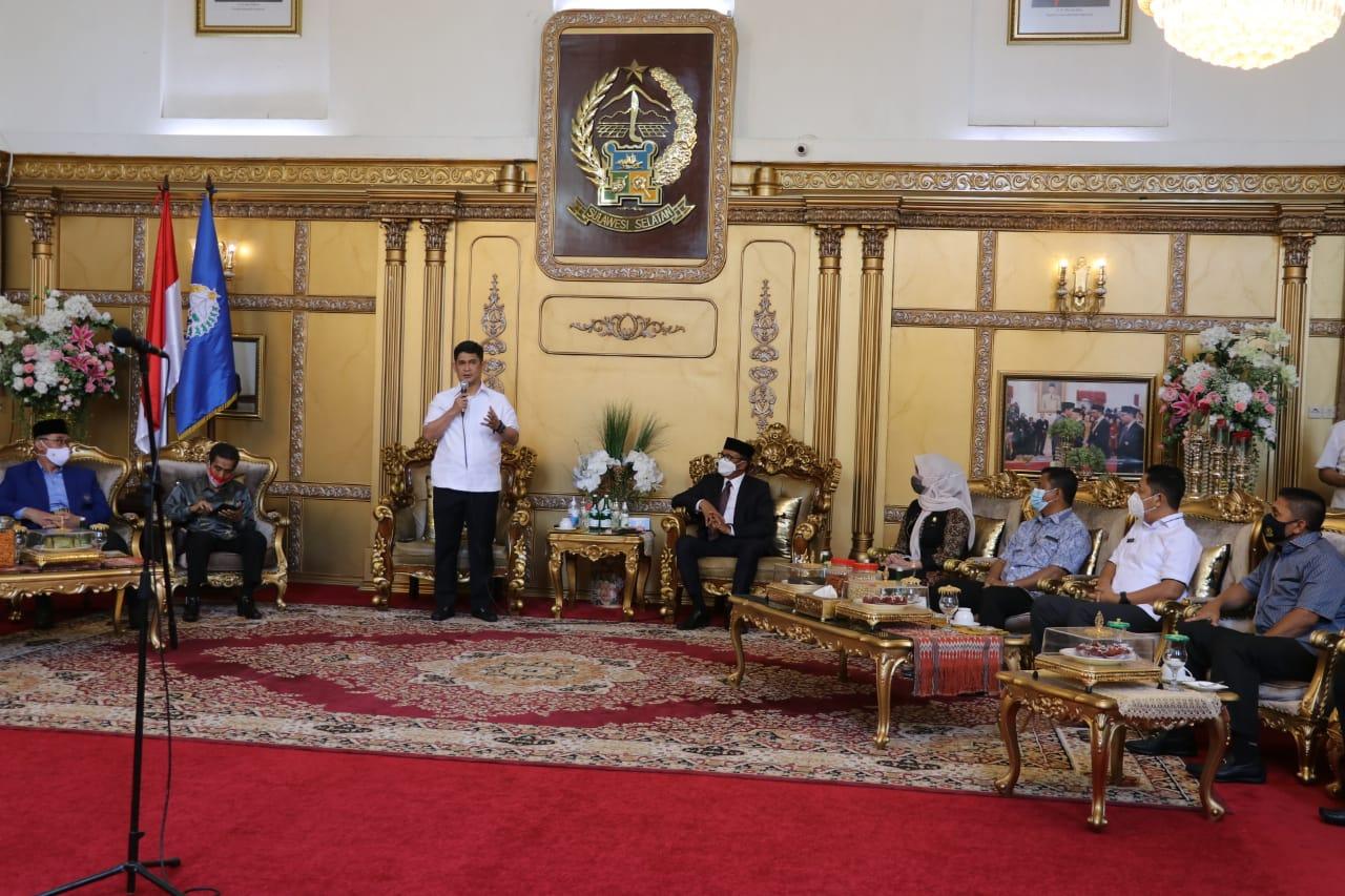Kapolda Sulsel Hadiri Pertemuan Dengan Gubernur Dan 23 Rektor, Bahas Situasi Kondusif di Sulsel