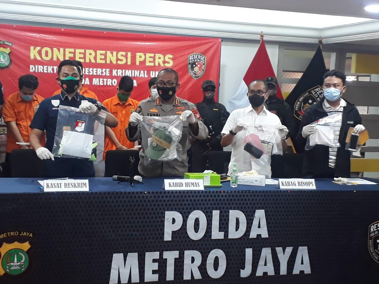 Keroyok Anggota Polri Saat Demo di Jakarta, 6 Orang Ditangkap