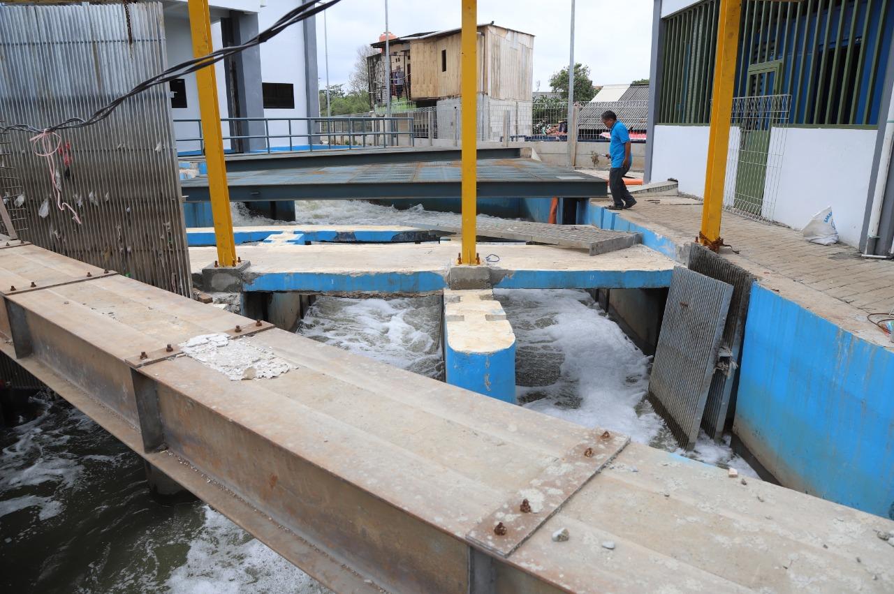 Antisipasi Banjir, Puluhan Mesin Pompa Stasioner dan Portabel Disiagakan di Pluit