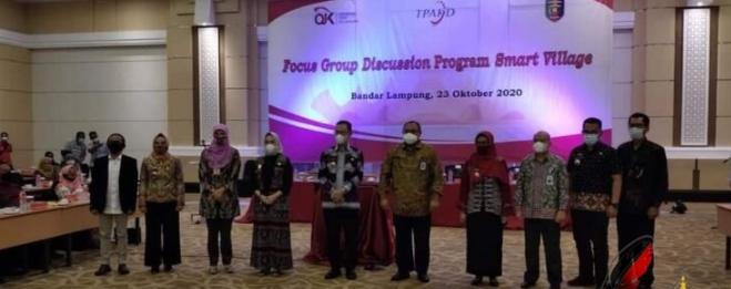 Plt Kadis Kominfo Miswandi Hasan Hadiri Acara Focus Group Discussion Program Smart Village