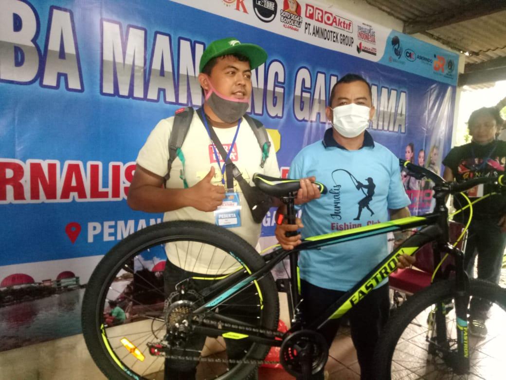 PWI Jaya dan IBR Relation Selenggarakan Lomba Mancing Galatama Sekaligus Resmikan JFC