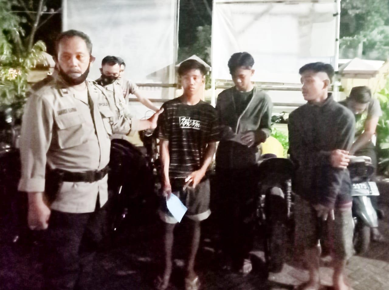 Balap Liar Dibubarkan Polisi, 6 Pembalapnya Berhasil Diamankan