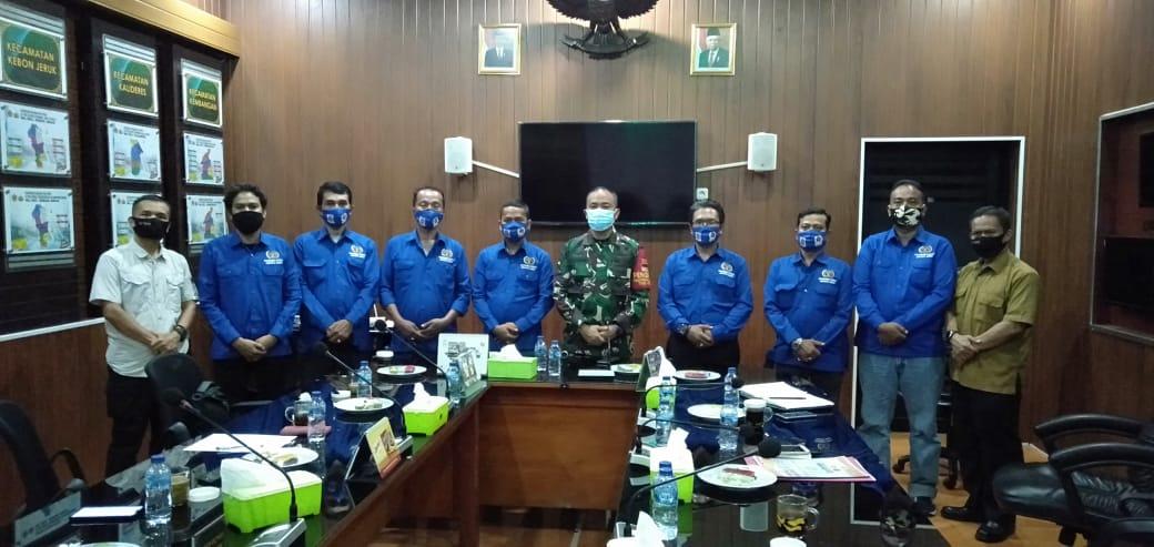 Diaudiensi, Koordinatoriat PWI Jakarta Barat dengan Kodim 0503/Jakbar Sepakat Membangun Sinergitas