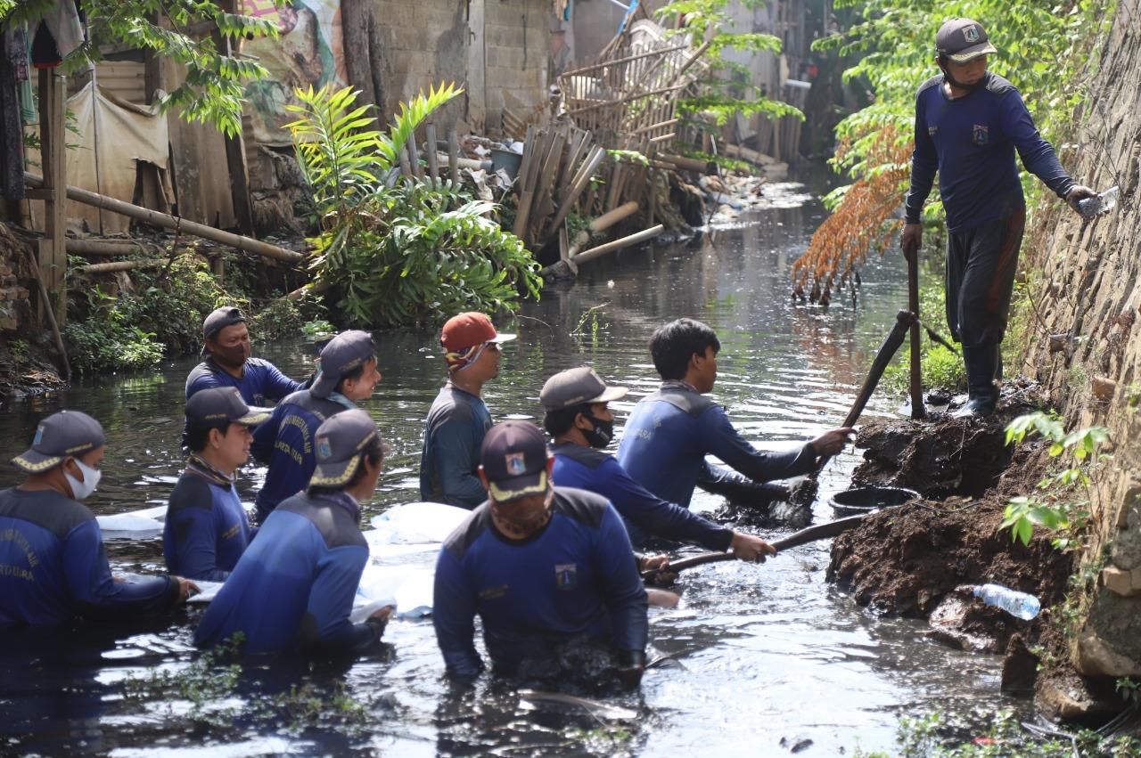 Cegah Banjir, Pemkot Jakut Fokus Pembangunan Kali BGR dan Kelola Air Kali Cakung Lama