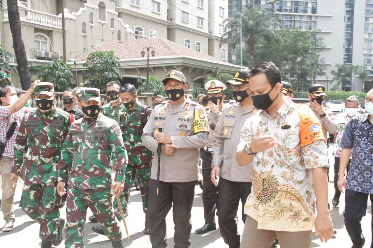 Apartemen Bebas Covid-19 (ABC) di Jakarta BaratDilaunching Kapolda Metro Jaya