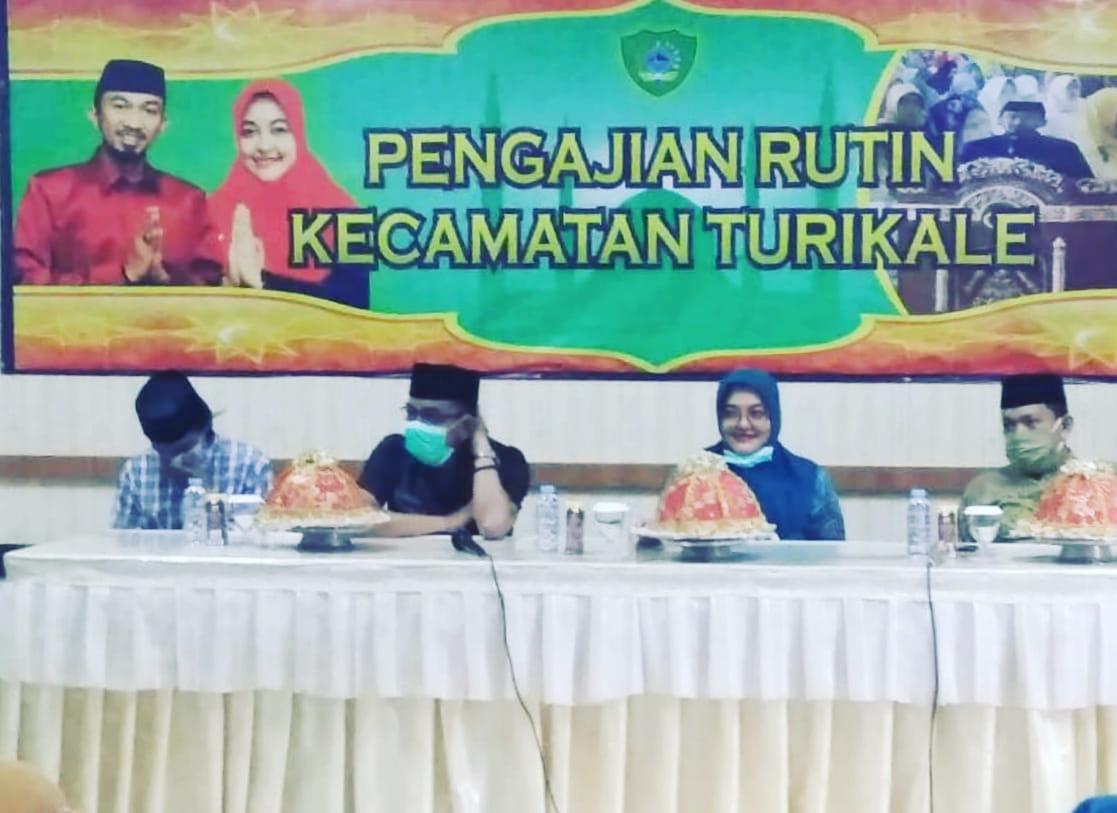 Pemerintah Kecamatan Turikale laksanakan Pengajian Rutin