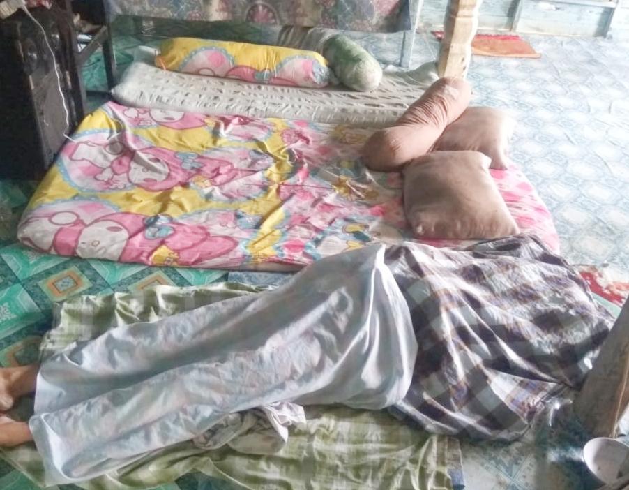 Diduga Gangguan Jiwa, Mustawa Nekad Bunuh Istrinya Pakai Lesung Cobek dan Balok Kayu