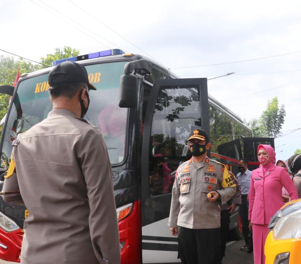 Kapolda Sulsel Laksanakan Kunjungan Kerja di Polres Barru, Ini yang Dilakukan
