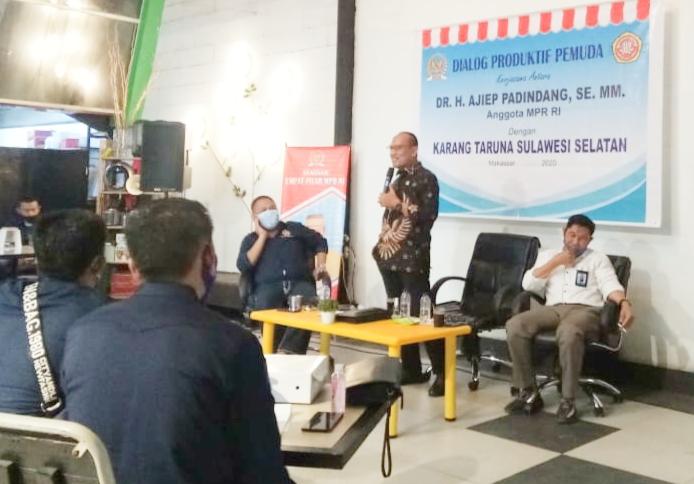 Anggota MPR RI, Ajiep Padindang : Pemuda Harus Produktif dan Berkarakter Pancasila