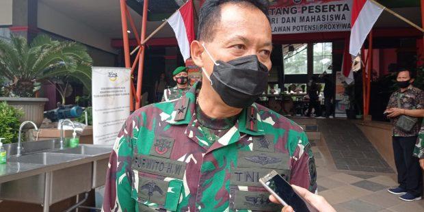 Danrem 052 Wijayakrama Apresiasi Sinergitas TNI Polri dan Mahasiswa Dalam Melawan Proxy War