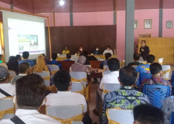 Sosialisasasi Program Desa Berjaya dan Pemetaan Potensi Lokus Smart Village Tahun 2020