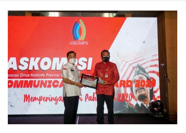 ASKOMPSI Communication AWARD 2020 Kepada Kementerian/Lembaga Serta Para Pejabatnya Berkinerja Baik