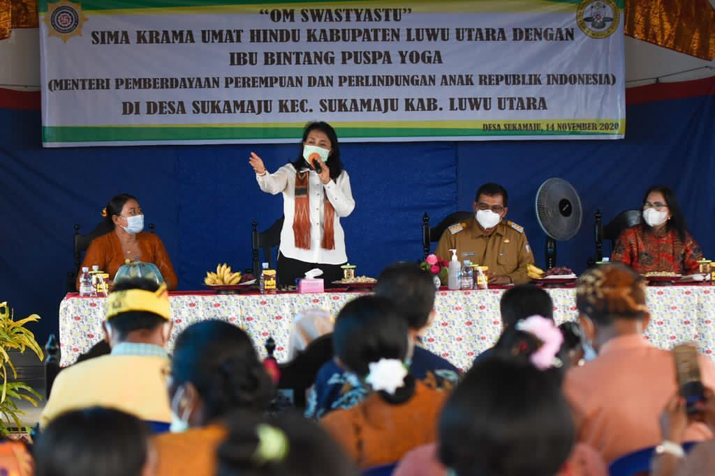 WHDI Kabupaten Luwu Utara Ikut Serta Berikan Bantuan dan Dukungan Bagi Perempuan, Anak dan Lansia