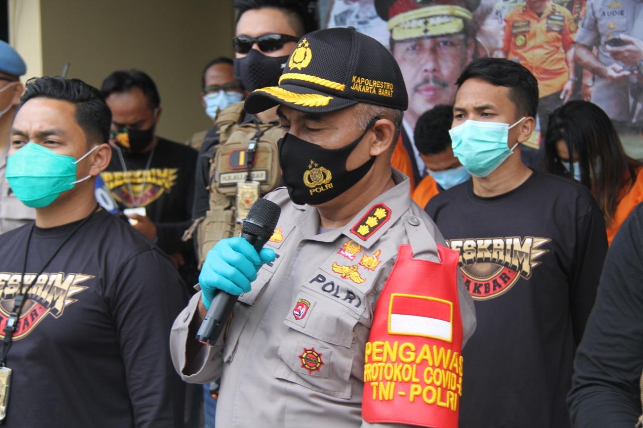 Komplotan Spesialis Penggelapan Mobil Rental Diringkus Reskrim Polres Metro Jakarta Barat