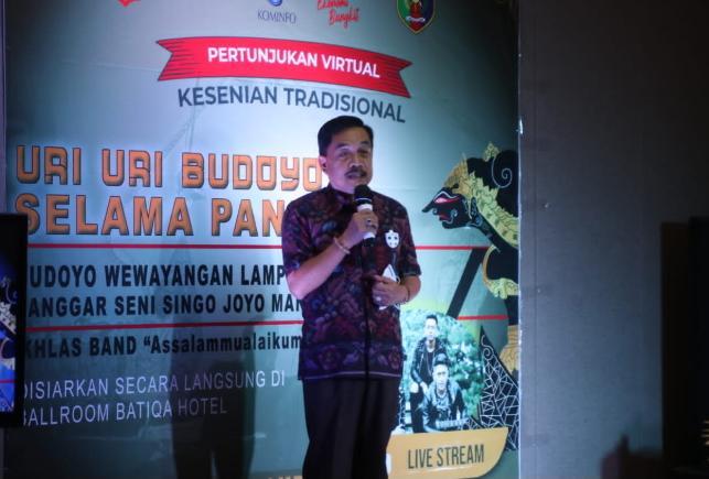 Pjs Bupati Pesisir Barat, Juga Kepala Dinas Kominfo Provinsi Lampung: Pemprov Lampung Mendorong UMKM Terdampak Pandemi