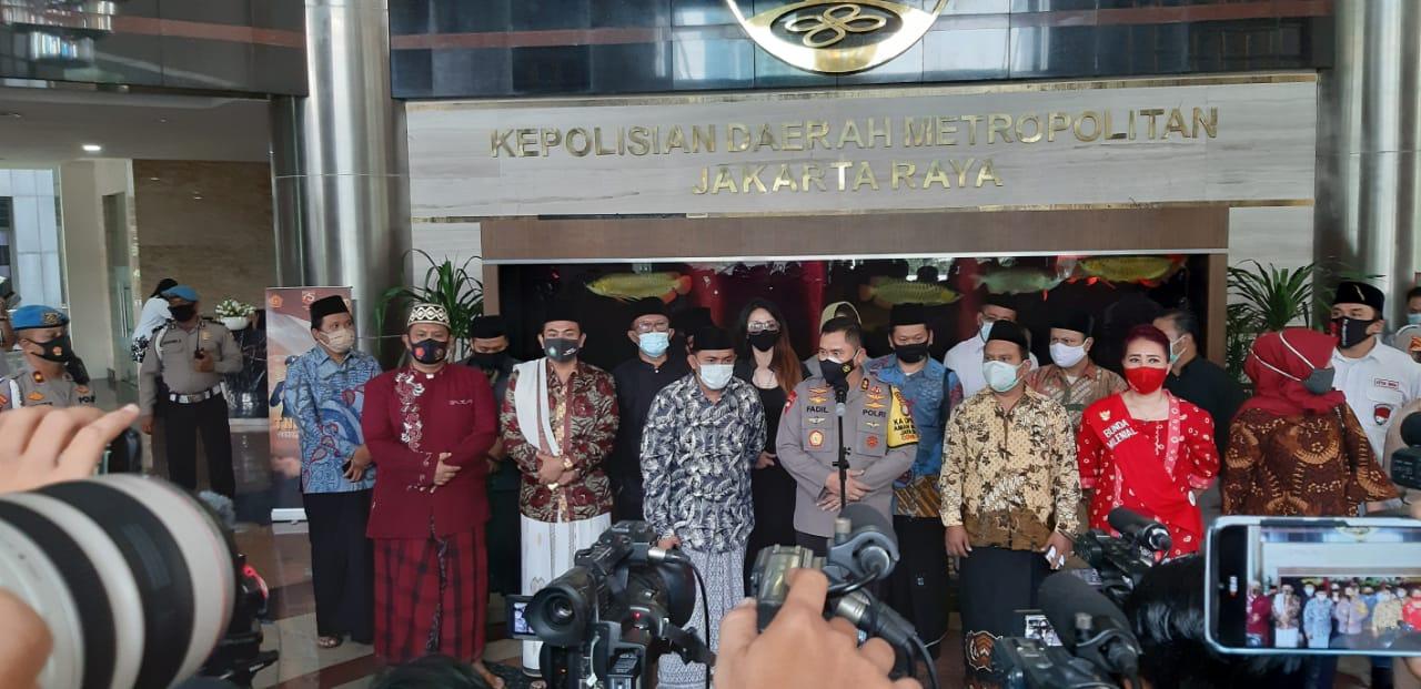 Forum Mubaligh Nusantara Bersama Tokoh Masyarakat Dukung Kapolda Metro Jaya Menegakan Kamtibmas
