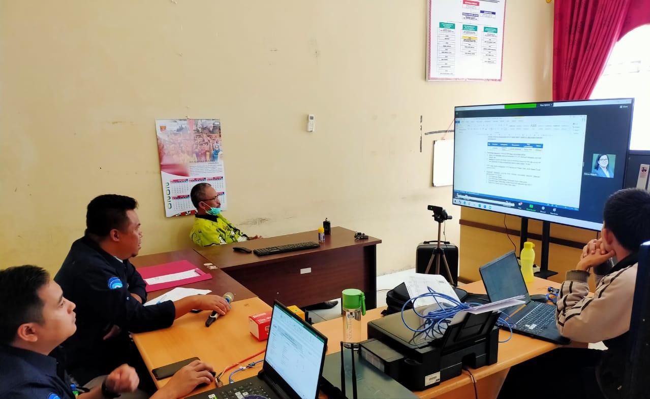 Diskominfo Pemkab Lambar Lakukan Pembahasan Pembangunan BTS di Pekon Pancurmas