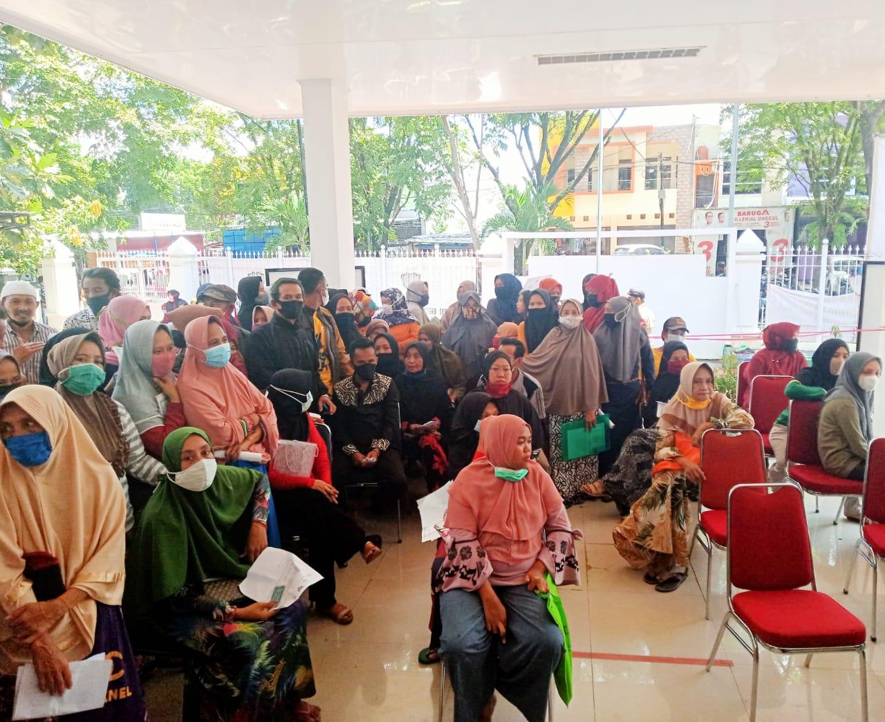 Warga Kecamatan Turikale Kabupaten Maros Kembali Menerima BST Tahap 9