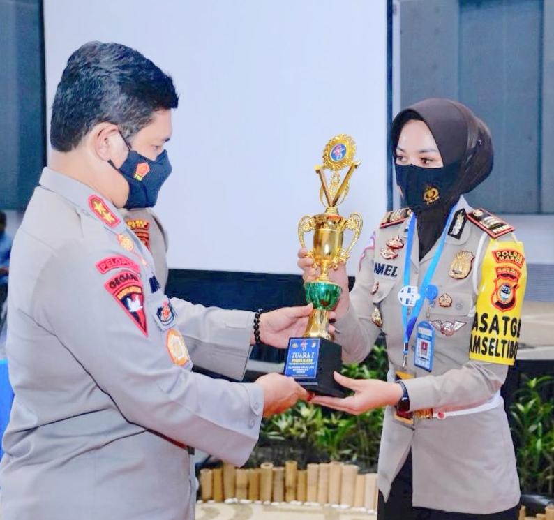 Sat Lantas Polres Maros Raih Penghargaan Empat Kategori Lomba Pelayanan Bidang Lalulintas