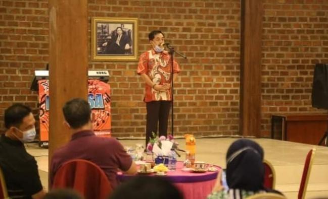Pjs.Bupati Pesisir Barat Achmad Chrisna Putra Hadiri Ramah Tamah Gubernur Lampung
