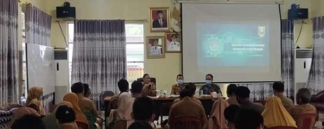 Pemkab Pesibar Expose Penyusunan Master Plan SPBE