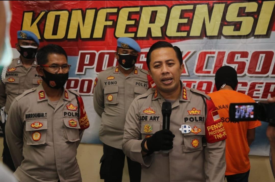 Polresta Tangerang Bekuk Pembobol Mesin ATM Bermodus Cabut Steker