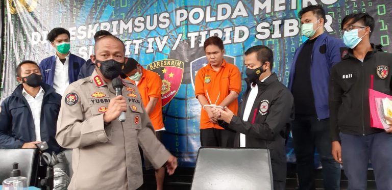 Pelaku Pengancaman Penggal Kepala Polisi, Diamankan Ditkrimsus Polda Metro Jaya