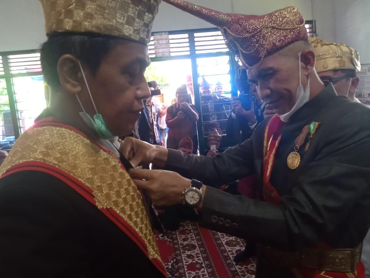 Kerajaan Paksi Bejalan Diway Gelar Anjau Silau ke-5 Saibatin Marga Krui