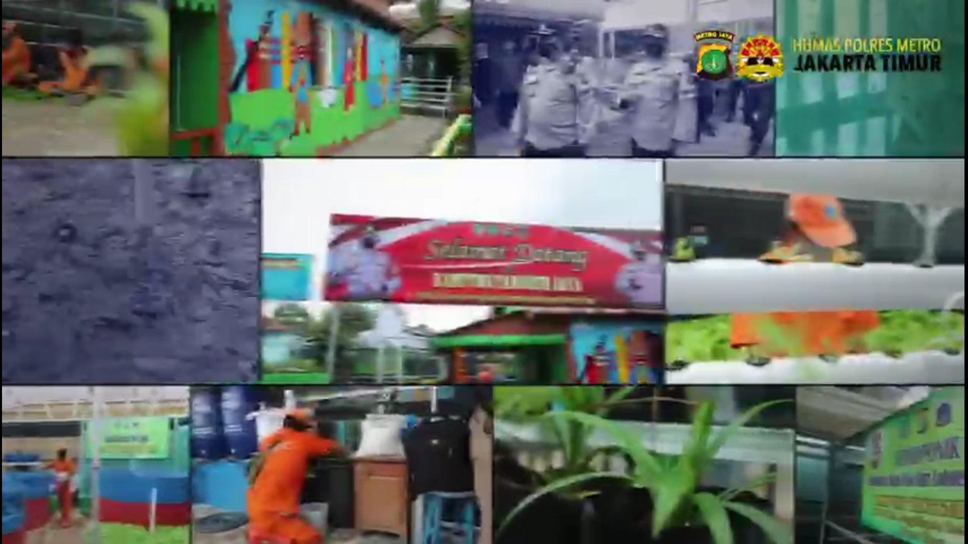 Gagasan Kapolda Metro Jaya 'Kampung Tangguh' Membuahkan Hasil Menggembirakan