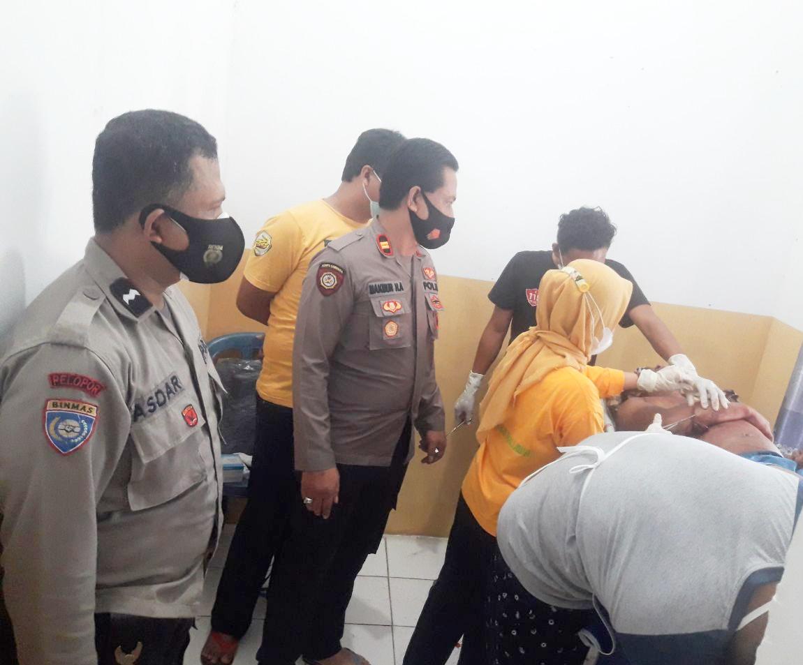 Anggota Damkar Kecamatan Camba Mengamuk, 1 Tewas, 1 Luka Berat, Dirinya Sendiri Juga Tewas Ditangan Warga.