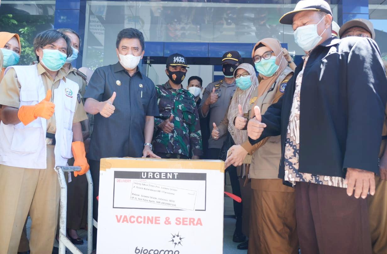 Bupati Maros, Hatta Rahman: Nakes yang Menolak di Vaksin Akan Dikenakan Sangsi