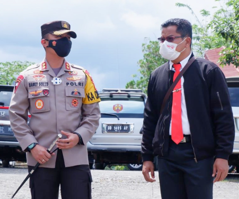 Polres Tana Toraja Keluarkan Himbauan Disiplin Prokes, dan Menindak Tegas Pelanggar Prokes
